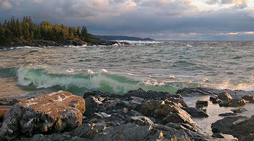 Lake Superior by Marilynn Bachorik