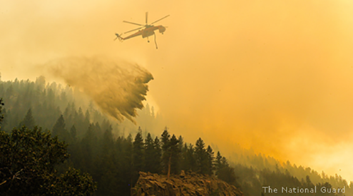 High Park Fire, National Guard