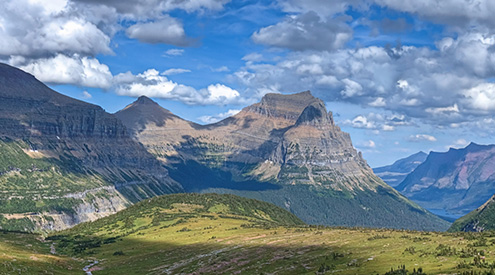 Glacier National Park by James Anderson