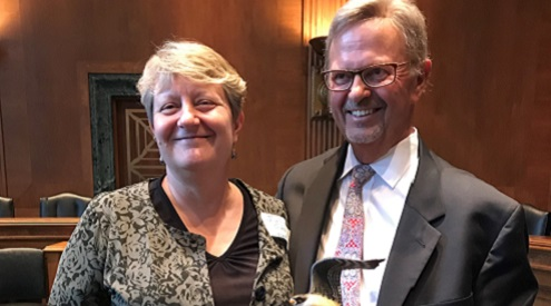 Lynn Tjeerdsma Honored with Conservation Legacy Award for Outstanding Contributions to Conservation
