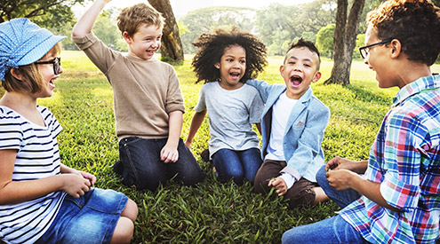 Kids in Nature, Shutterstock