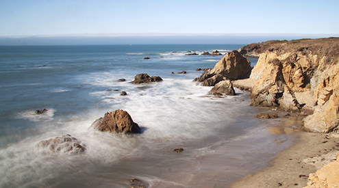 California Coastline, Pam Winegar