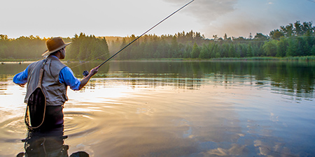 Photo of Angler, Shutterstock