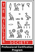 The Wildlife Society Professional Certification Program