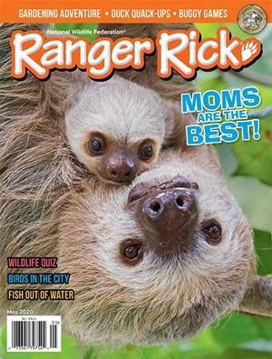 Ranger Rick May 2020 magazine cover