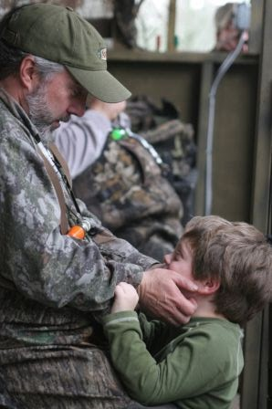 Bill Cooksey passes on hunting and conservation to his son.
