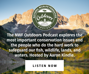 The NWF Outdoors Podcast explores the most important conservation issues and the people who do the hard work to safeguard our fish, wildlife, lands, and waters. Hosted by Aaron Kindle and Drew YoungeDyke