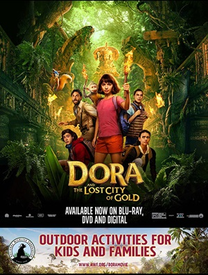 Dora and the Lost City of Gold family fun guide cover