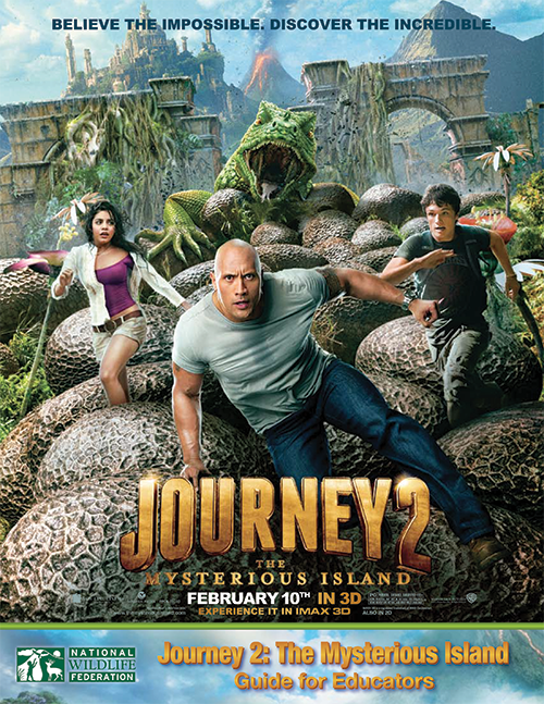 Journey 2 the Mysterious Island Movie Poster