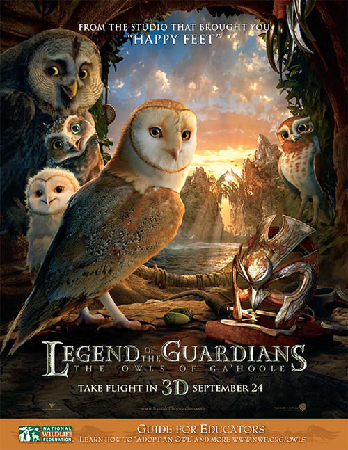 Legends of the Guardian Movie Poster