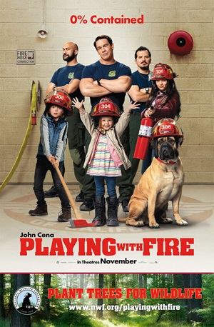 Playing with Fire movie poster