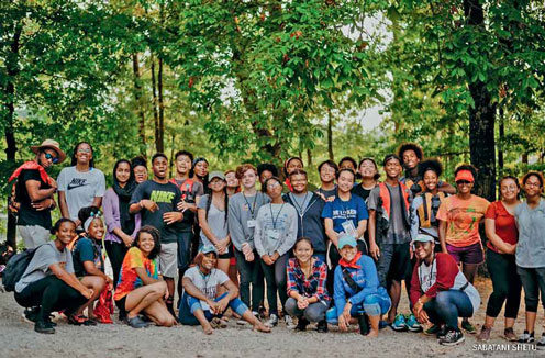 Participants in the Earth Tomorrow program