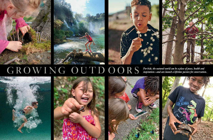 Kids and Nature Opening Spread