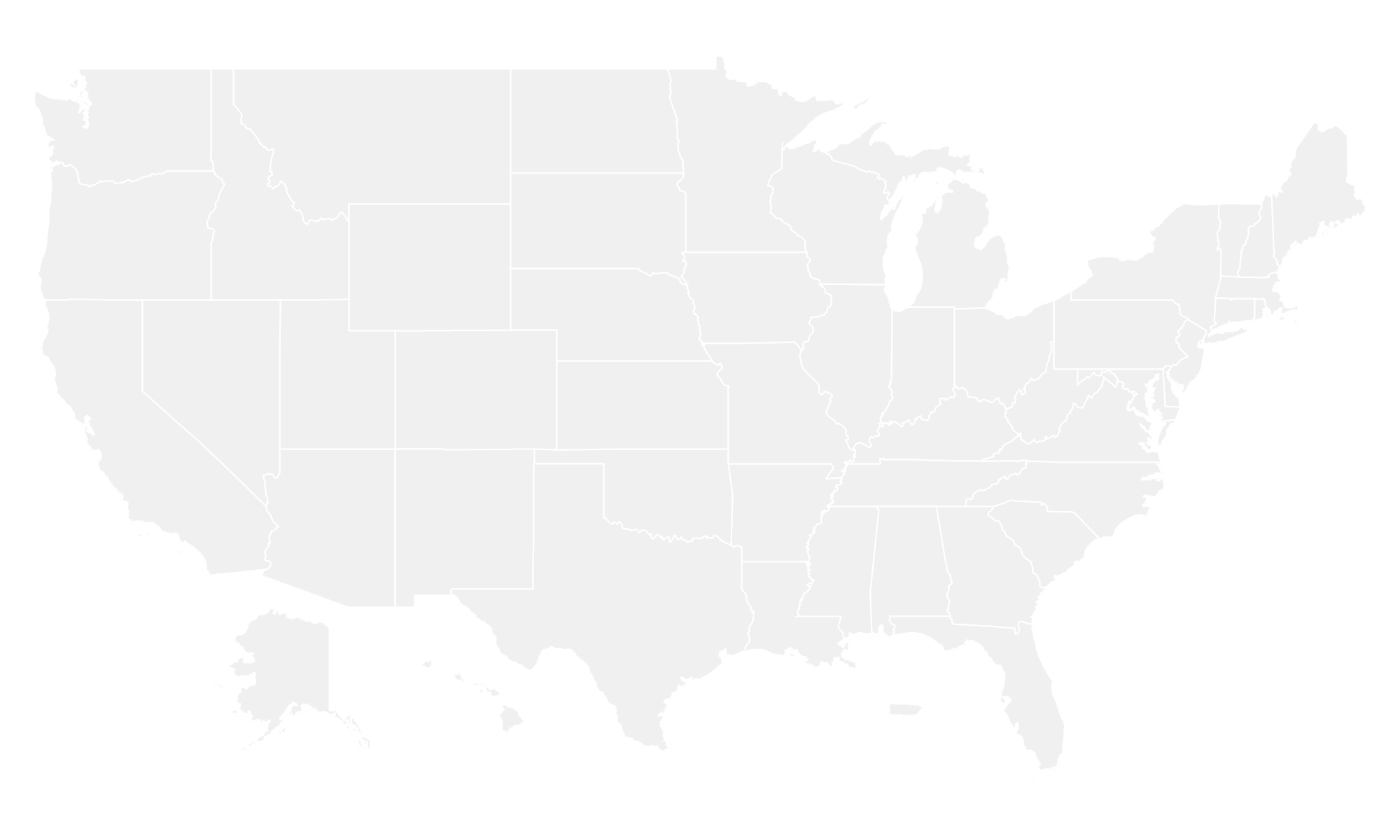 Fmuspng - Us map red png