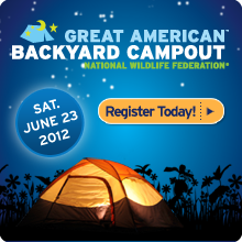 The Great American Backyard Campout is Saturday, June 23, 2012