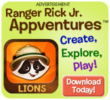 Explore Ranger Rick Jr. Appventures today!