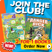 Join the Ranger Rick Book Club today!