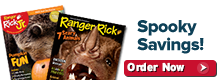 Subscribe to Ranger Rick magazines today