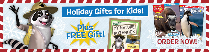 Ranger Rick Magazines make great gifts for kids!