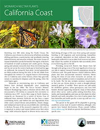 Coastal California Monarch Plant List by NWF and Xercies Society