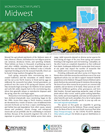 Midwest Monarch Plant List by NWF and Xercies Society
